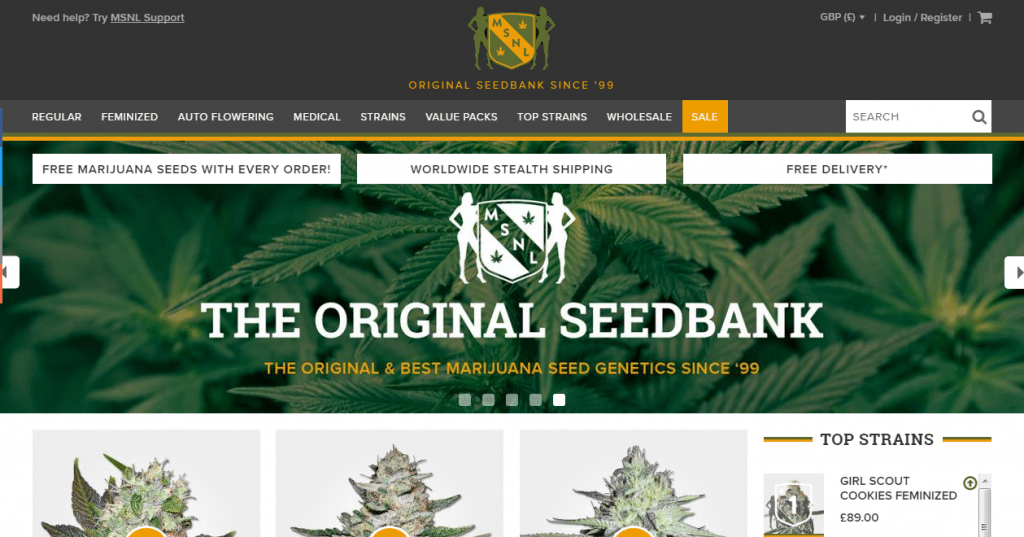 Best place to order marijuana seeds